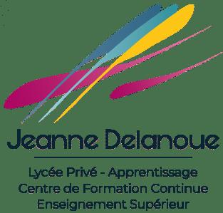 Logo Jeanne Delanoue, lycée privé et centre de formation