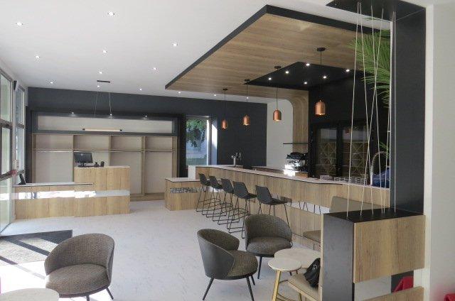 Accueil restaurant d'application