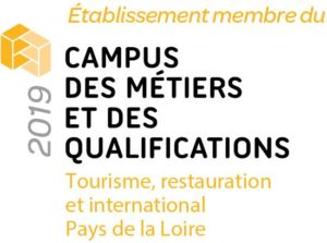 logo Campus Tourisme, restauration, International