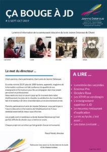 edition 1 ça bouge à jd page 1